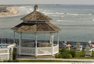 ABS gazebo overlooking ocean