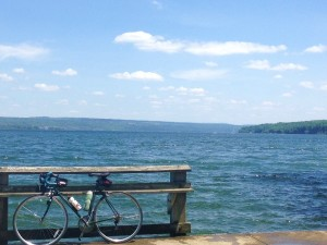 Bike Lake Cayuga