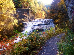 Buttermilk FallsTrail in Autumn